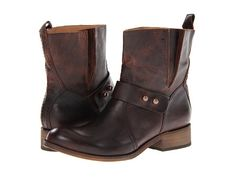 Lucchese Olivia Short Boot Chocolate - Zappos.com Free Shipping BOTH Ways