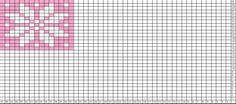 Tricksy Knitter Charts: Snoflake - 15 wide