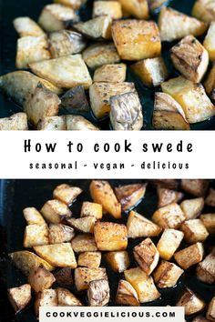 Swede, or rutabaga, is a great seasonal vegetable with more uses than you might think. Find out how to cook swede, as well as how to prepare it for roasting and other recipe suggestions. #swede #rutabaga #roastedswede #seasonalvegetables #vegan