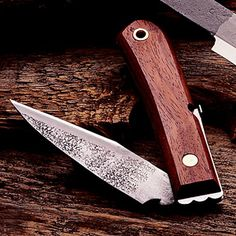Japanese Folding Knife: Laminated Steel Bladed Japanese Knives, Pocketknife