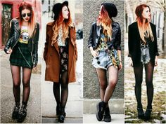 Luanna Perez grunge, vintage outfits. her style is incredibly inspiring