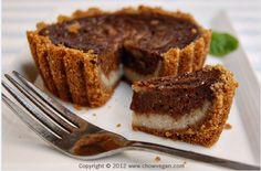 Chocolate Galaxy Banana Cheesecake