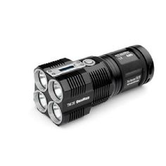 Smallest and lightest rechargeable flashlight 4*CREE XM-L (U2) LED 3500 lumens | Buy Flashlight on FlashlightShot.com