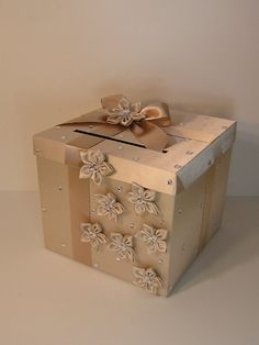Wedding Card Box Wedding Money Box Gift Card Box - Custom Made ...