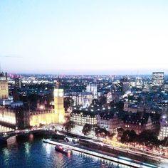 Não existe foto que capture a real beleza dessa vista ou legenda que consiga descrever o que eu sinto. Mas que fique aqui um lembrete: sonhos se realizam. Nem sempre quando você quer ou da forma que você imagina mas sim como tem que ser. Nem meus maiores sonhos planos e expectativas são capazes de superar tudo que vivi nessa cidade que eu tanto amo. Londres nem preciso dizer né? Você já sabe.