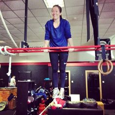 Shout out to @emmabyrne who hit her first Bar Muscle Up today adding to the list of female members we've had accomplish that milestone! Well done Emma! #CrossFitOpen #16.3 #gym #bray #wicklow #strong