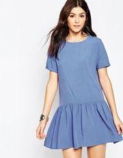 Glamorous Drop Waist Skater Dress