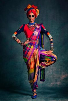 i really want to say this is a bibi russell creation.  love the colours.