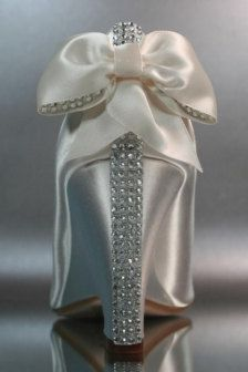 Bling Wedding Shoes Ivory | Wedding Shoes, Shoes Clips & Flowers - Bridal Accessories - Page 9