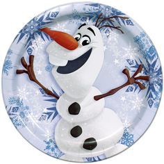 Olaf Lunch Plates.