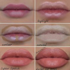 Pinterest @IIIannaIII  How to make your lips look bigger