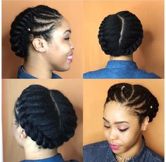 winter protective styles for hair # types of Braids protective styles 10 Natural Hair Winter Protective Hairstyles For Work No Extensions Flat Twist Hairstyles, Natural Braided Hairstyles, Flat Twist Updo, Natural Hair Updo, Protective Hairstyles, Weave Hairstyles, Afro Twist, Twist Ponytail, African Hairstyles