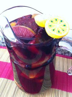 Limonada 🍋 de semana santa (sangría con frutas)
