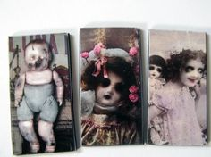 Halloween Creepy Doll Magnets