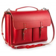 Lehrertasche rot