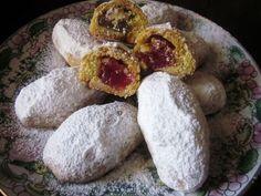 Greek Sweets, Greek Desserts, Greek Recipes, Greek Cookies, Greek Pastries, Macaron Recipe, Pureed Food Recipes, Biscuit Cookies, Food Styling