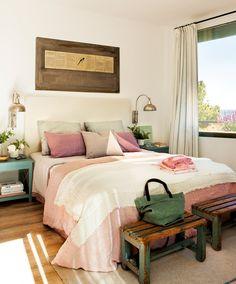 Discover best rustic farmhouse bedroom decor ideas and design tips. Pretty Bedroom, Cozy Bedroom, Dream Bedroom, Bedroom Decor, Bedroom Ideas, Bedroom Designs, Master Bedroom, Twin Xl Bedding, Duplex