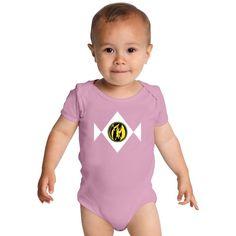 Power Ranger - Pink Ranger Baby Onesies