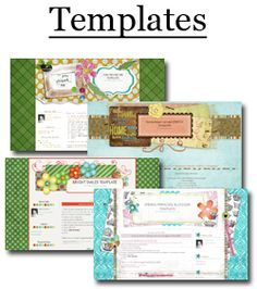 Free Blog templates and backgrounds