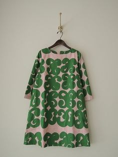 marimekko(マリメッコ):marimekko(マリメッコ) ワンピース/買取実績/ナチュラル系ブランド宅配買取専門店ドロップ[drop] Girl Fashion, Fashion Dresses, Womens Fashion, Fashion Design, Marimekko Dress, Moda Casual, Linen Dresses, Clothing Patterns, I Dress