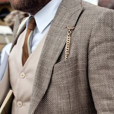 Pocket Watch Chain...now that's cool!!