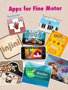 Assistive Technology Adventures: Fine Motor Skills - Apps  By- Ben Gaines