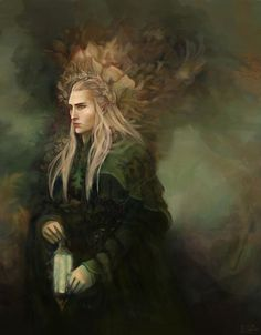 King Of The Woodland Realm ©saramondo. http://lilywight.com/2012/11/18/more-magickal-middle-earth/
