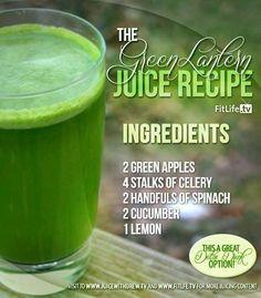The Green Lantern Juice.