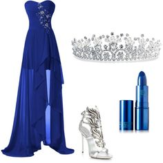 """""""Ravenclaw Yule Ball"""" by mollykay11 on Polyvore"""