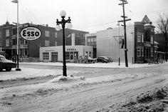 Ancien Station Service Esso coin rue Cartier et Boulevard René-Lévesque Quebec Montreal, Quebec City, Cartier, Chute Montmorency, Chateau Frontenac, Le Petit Champlain, Canada, Close To Home, Gas Station