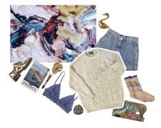 """""""be happy🍭"""" by xeptum ❤ liked on Polyvore featuring art"""