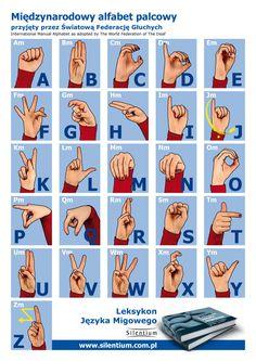 Międzynarodowy język migowy - alfabet