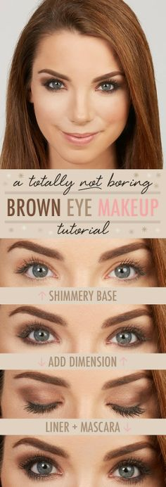 Younique by Kristen Morton: Brown Eye Makeup Tutorial  https://www.youniqueproducts.com/Amy