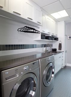 "Figure out even more information on ""laundry room tiny house"". Look at our website. Mudroom Laundry Room, Laundry Room Bathroom, Laundry Area, Wall Storage Shelves, Shelves In Bedroom, Metal Barn Homes, Metal Building Homes, Modern Laundry Rooms, Pole Barn House Plans"