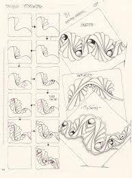 Resultado de imagen de zentangle tutorial