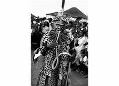 Khekhekhe Mtetwa, alias Sangoma, puts a poisonous black mamba in his mouth near Eshowe, Kwa