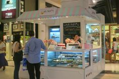 Muma's Cupcakes in Alto Palermo Mall in Buenos Aires