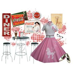 50's diner outfit