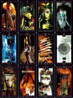 Vertigo Tarot, art by David McKean. McKean's are awesome, true story.