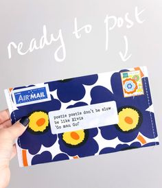 Upcycle Style: Make an Envelope from a Magazine Cover | My Poppet Makes