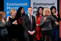 Brigitte Macron est très souvent aux côtés de son époux Emmanuel Macron, candidat à l