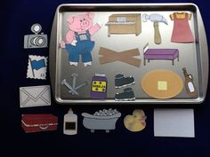 If You Give a Pig a Pancake Storytelling Magnetic Activity Teaching Resource