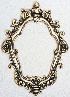 Moldura Decorativa Veneziana Império