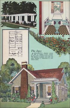 The Joyce  1925 American Builder Magazine BY William A. RAdford Co.
