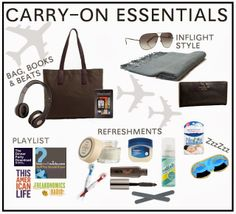 My Carry-On Essentials - what are yours?