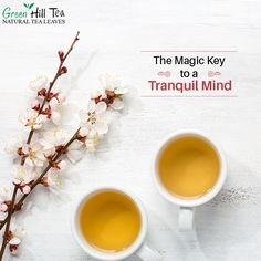 #Tea is the key to a tranquil mind and helps you to stay rejuvenate! To get your tea, visit: http://www.greenhilltea.com/ #HealthyTea #TeaLove