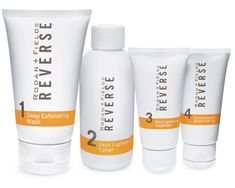 It's not what you see ... It's what you don't see. Exposure to the sun and the environment can leave you with less-than-youthful skin. Erase the signs of premature aging, including brown spots, dullness, and sun damage with REVERSE. REVERSE Regimen exfoliates, lightens, brightens and protects your skin for a more even tone and texture. Recognized on Allure Magazine's A List, the REVERSE Regimen features 4 full-size products: Deep Exfoliating Wash 125 mL/4.2 Fl.Oz.; Skin Lightening Toner 125…
