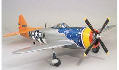 TOP FLITE - 0340415 - Avion Radiocommandés / Radio Controlled Planes - THUNDER P - 47D . GIANT - KIT