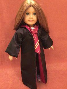 Hogwarts House Robe & Tie by DressMeMagic on Etsy