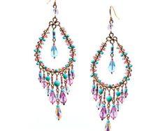 Beginners guide to diy chandelier earrings diy chandelier bohemian chandelier earrings multi color chandelier earrings aloadofball Choice Image